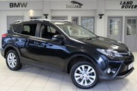 USED 2014 14 TOYOTA RAV4 2.2 D-4D INVINCIBLE 5d AUTO 150 BHP - full service history  FULL BLACK LEATHER SEATS + FULL SERVICE HISTORY + TOUCH SCREEN + REVERSE CAMERA + 18 INCH ALLOYS + HEATED FRONT SEATS + DAB RADIO + BLUETOOTH + CRUISE CONTROL + PARKING SENSORS