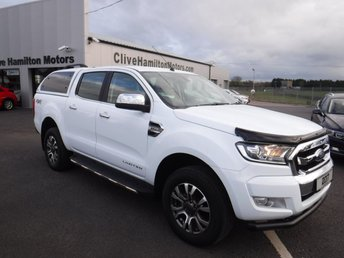 2017 FORD RANGER 2.2 LIMITED 4X4 DCB TDCI 1d 148 BHP £SOLD
