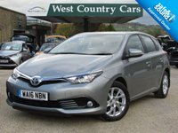 USED 2016 16 TOYOTA AURIS 1.2 VVT-I BUSINESS EDITION 5d AUTO 114 BHP Big Specification