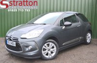 USED 2013 13 CITROEN DS3 1.6 DSTYLE 3d 120 BHP High Quality hand picked cars by Stratton Car Company Uckfield Sussex - 01825 713 793