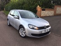 2012 VOLKSWAGEN GOLF 1.6 MATCH TDI 5d 103 BHP PLEASE CALL TO VIEW £6950.00