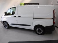 USED 2016 16 FORD TRANSIT CUSTOM 2.2 290 LR P/V 1d 124 BHP REAT VAN  WITH ONE OWNER AND FULL DEALER HISTORY FINISHED IN BRIGHT WHITE,WITH IMMACULATE BODY WORK AND UNMARKED INTERIOR,  ELEC WINDOWS, REMOTE CENTRAL LOCKING, RADIO CD USB POINT , FRONT AND REAR PARKING SENSORS, CARGO LINED, BULK HEAD,  JUST SERVICED READY FOR WORK.