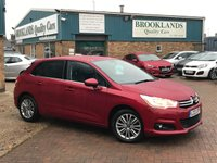 2012 CITROEN C4 1.6 VTR PLUS HDI PEARL BABYLON RED 5 DOOR 110 BHP £4495.00
