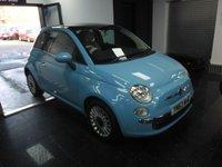 2013 FIAT 500 1.2 LOUNGE 3d 69 BHP £5299.00
