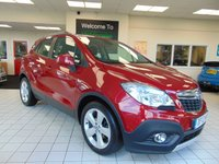 USED 2013 13 VAUXHALL MOKKA 1.6 EXCLUSIV S/S 5d 113 BHP FULL SERVICE HISTORY + AUGUST 2019 MOT + BLUETOOTH + HEATED SEATS + CRUISE CONTROL + CLIMATE CONTROL + REMOTE CENTRAL LOCKING