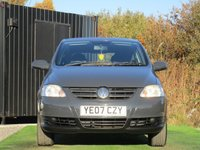 USED 2007 07 VOLKSWAGEN FOX 1.4 URBAN 75 3d 75 BHP