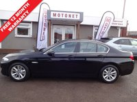 USED 2011 61 BMW 5 SERIES 2.0 520D SE 4DR DIESEL 181 BHP ++++BUY NOW PAY NEXT JANUARY 2019++