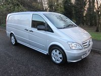2014 MERCEDES-BENZ VITO 2.1 116 CDI SPORT AUTO 163 BHP LONG  £14000.00