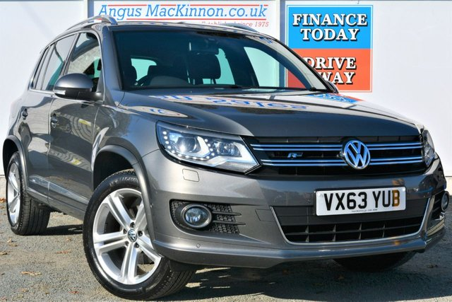 2013 63 VOLKSWAGEN TIGUAN 2.0 R LINE TDI BLUEMOTION TECHNOLOGY 4MOTION 4x4 5d Family SUV
