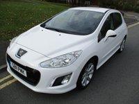2011 PEUGEOT 308 1.6 ACTIVE 5d 120 BHP £3999.00