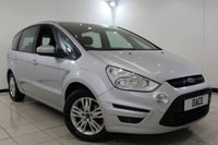 USED 2013 13 FORD S-MAX 2.0 ZETEC TDCI 5DR 138 BHP Full Service History FULL SERVICE HISTORY + 7 SEATS + HEATED SEATS + BLUETOOTH + PARKING SENSOR + CLIMATE CONTROL + MULTI FUNCTION WHEEL + 16 INCH ALLOY WHEELS