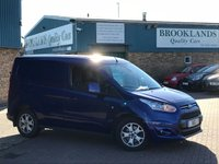 2015 FORD TRANSIT CONNECT 1.6 200 LIMITED P/V Deep Impact Blue Metallic 4 Door 114 BHP £11995.00