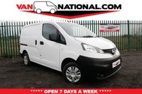 USED 2016 66 NISSAN NV200 1.5 DCI ACENTA 90 BHP ONE OWNER REVERSE CAMERA * REVERSING CAMERA * BLUETOOTH * ELECTRIC MIRRORS *