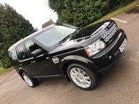 2012 LAND ROVER DISCOVERY 3.0 4 SDV6 HSE 5d AUTO 255 BHP £SOLD