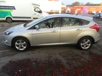 USED 2012 62 FORD FOCUS 1.6 ZETEC TDCI 5d 113 BHP