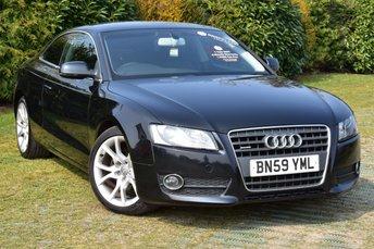 2009 AUDI A5 2.0 TDI QUATTRO SPORT 2d 168 BHP £7500.00