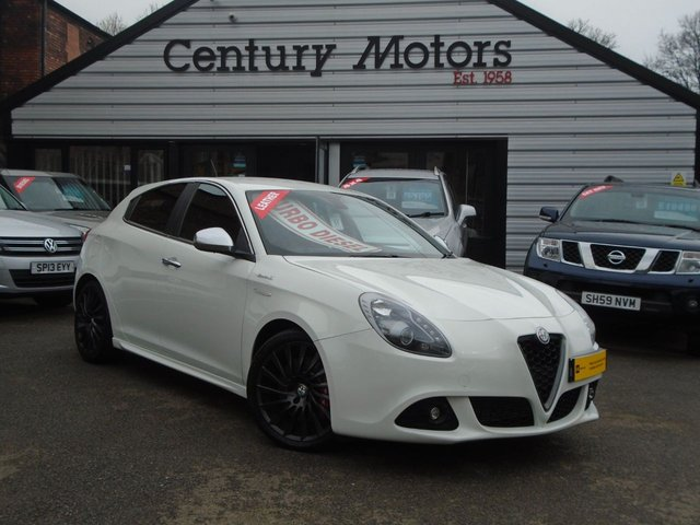 2013 13 ALFA ROMEO GIULIETTA 1.6 JTDM-2 SPORTIVA 5d - RED LEATHER