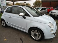 2010 FIAT 500 1.2 LOUNGE 3d 69 BHP JUST BEEN SERVICED
