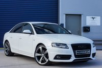 USED 2011 11 AUDI A4 1.8 TFSI S LINE BLACK EDITION 4dr 158 BHP