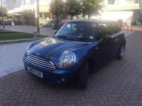 2007 MINI HATCH COOPER 1.6 COOPER 3d 118 BHP £3190.00