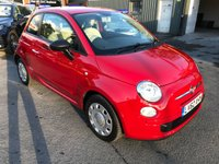2013 FIAT 500 1.2 POP 3d 69 BHP IN RED WITH 46000 MILES IN IMMACULATE CONDITION. £4299.00