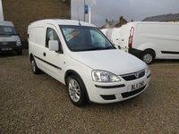 2011 VAUXHALL COMBO 1700 SE 1.3CDTi ECOFLEX  74 BHP VAN WITH SIDE LOAD DOOR £4995.00