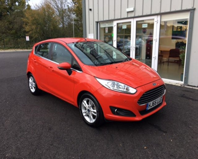 2015 65 FORD FIESTA 1.0 ZETEC ECOBOOST AUTOMATIC (100ps)