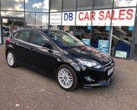 2012 FORD FOCUS 1.0 ZETEC S S/S 5d 124 BHP £6795.00