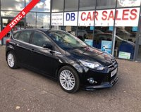 USED 2012 62 FORD FOCUS 1.0 ZETEC S S/S 5d 124 BHP NO DEPOSIT AVAILABLE, DRIVE AWAY TODAY!!