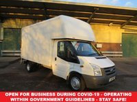 2011 FORD TRANSIT 100T 350 2.4TDCi MWB LUTON WITH TAIL-LIFT £7250.00