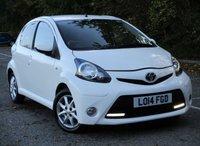 2014 TOYOTA AYGO 1.0 VVT-I MODE 5d 68 BHP £4295.00