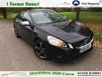 USED 2011 61 VOLVO S60 2.0 D3 R-DESIGN 4d 161 BHP Only 1 Former Owner!