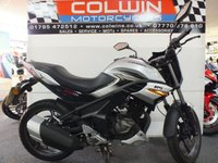 USED 2018 66 SINNIS RS125 SINNIS RS 125cc ONLY 3,700 MILES!!
