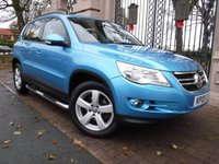 USED 2009 09 VOLKSWAGEN TIGUAN 2.0 ESCAPE TDI 5d 138 BHP *** FINANCE & PART EXCHANGE WELCOME *** 4X4 DIESEL 6 SPEED AIR/CON PARKING SENSORS CD PLAYER AUX SOCKET