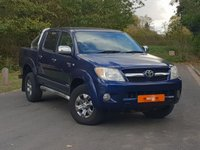 USED 2005 55 TOYOTA HI-LUX 2.5 INVINCIBLE SWB 4X4 DCP 1d 103 BHP 2 OWNERS VAT QUALIFYING VGC