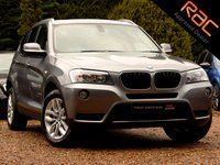 USED 2010 60 BMW X3 2.0 XDRIVE20D SE 5d AUTO 181 BHP (NAV & PAN ROOF)
