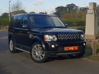 2012 LAND ROVER DISCOVERY 3.0 4 SDV6 COMMERCIAL 1d AUTO 255 BHP £15990.00