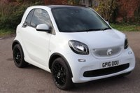 2016 SMART FORTWO 0.9 EDITION WHITE T 2d AUTO 90 BHP £7995.00