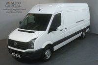 USED 2016 66 VOLKSWAGEN CRAFTER 2.0 CR35 TDI 135 BHP L3 H3 LWB H/ROOF AIR CON AIR CON ULEZ COMPLIANT
