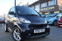 2012 SMART FORTWO 1.0 PULSE MHD 2d AUTO 71 BHP