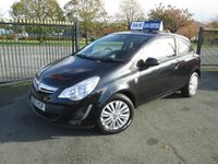 USED 2013 63 VAUXHALL CORSA 1.2 i Energy 3dr Buy Now PAY in Six Months
