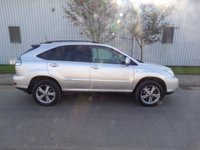 USED 2007 LEXUS RX 3.3 400H SR 5d AUTO 208 BHP HYBRID SAT NAV 84,000 MILES PART EXCHANGE AVAILABLE / ALL CARDS / FINANCE AVAILABLE