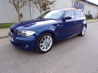 USED 2009 09 BMW 1 SERIES 2.0 116I M SPORT 5d 121 BHP ONLY 48,000 MILES 1 OWNER PART EXCHANGE AVAILABLE / ALL CARDS / FINANCE AVAILABLE