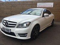 2012 MERCEDES-BENZ C CLASS 1.6 C180 BLUEEFFICIENCY AMG SPORT PLUS 2d AUTO 154 BHP £12599.00