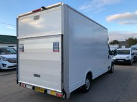 USED 2015 15 PEUGEOT BOXER 2.2 HDI 335 L3 LOW LOADER LUTON 130 BHP