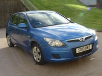 USED 2010 10 HYUNDAI I30 1.4 EDITION 5d 108 BHP 1 PREVIOUS KEEPER +  SERVICE RECORD +   MEDIA CONNECTIVITY +  MOT MAY 2019 +  AUX CONNECTION +