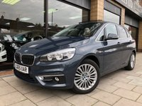 USED 2015 65 BMW 2 SERIES 2.0 218D LUXURY ACTIVE TOURER 5d AUTO 148 BHP