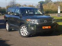 2013 TOYOTA LAND CRUISER V8 4.5 D-4D V8 5d AUTO 268 BHP £39990.00