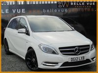 2012 MERCEDES-BENZ B CLASS 1.8 B200 CDI BLUEEFFICIENCY SPORT 5d 136 BHP £9490.00