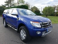 2014 FORD RANGER LIMITED 4X4 DOUBLE CAB PICK UP 3.2 TDCI 200 BHP £14995.00